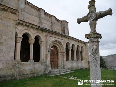 Iglesia de San Miguel - Fuentidueña  - viaje cultural en grupo; revista senderismo